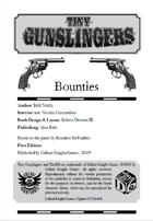 Tiny Gunslingers: Bounties