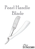 Pearl Handle Blade
