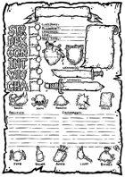 OSR Character Sheet