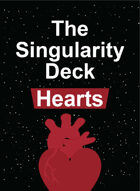 The Singularity Deck - Hearts Suit