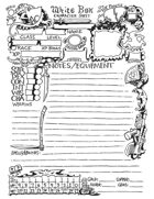 White Box Character Sheet 2