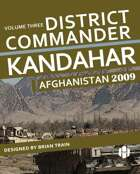 District Commander Kandahar