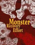 Monster Recovery Effort