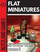 Spooky Days - Paper Miniatures - wave 1