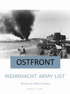 Wehrmacht Army List for Ostfront