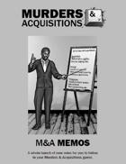 M&A Memos