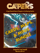 CAPERS Cards Maps and Minis [BUNDLE]