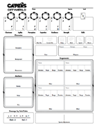 CAPERS Offworld Character Sheet