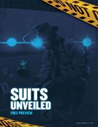 City of Mist Free Preview - Suits Unveiled