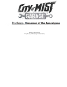 Pestilence - Horseman of the Apocalypse