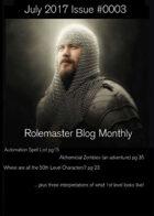 Rolemaster Fanzine Issue 0003