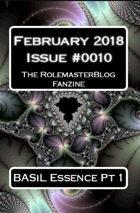 Rolemaster Fanzine Issue 0010