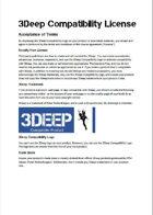 3Deep Compatibility License