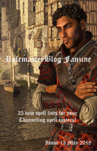 Rolemaster Fanzine Issue #13 to #24 [BUNDLE]
