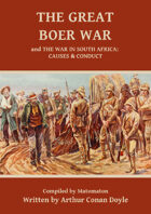 The Great Boer War by Arthur Conan Doyle (Second Boer War)