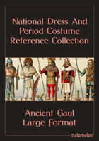 Ancient Gaul: Large Format National Dress & Period Costume Reference Collection