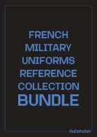 French Military Uniforms Reference Collection [BUNDLE]