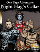 One Page Battle Maps: Night Hag's Cellar