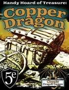 Handy Hoard of Treasure: Copper Dragon