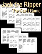 Jack the Ripper: A Social Decuction Card Game - Text Only Version