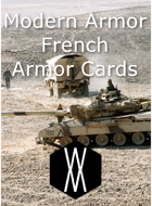 Modern Armor - French Armor Cards