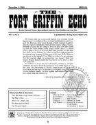 Fort Griffin Echo, Vol. 1, No. 2