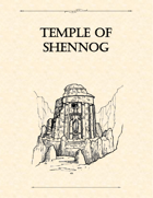 Adventure Framework 10: Temple of Shennog