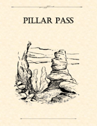 Adventure Framework 03: Pillar Pass