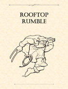 Adventure Framework 12: Rooftop Rumble