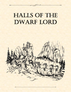 Adventure Framework 18: Halls of the Dwarf Lord