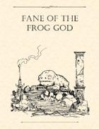 Adventure Framework 46: Fane of the Frog God