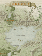 Midlands Low Magic Sandbox Setting Hex Map