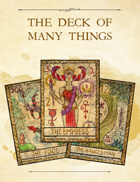 Adventure Framework 53: The Deck of Many Things
