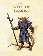 Adventure Framework 55: Well of Demons