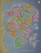 Mendoza City Map