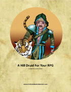 A Hill Druid For Your RPG