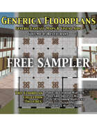 GENERICA Floorplans - FREE Sampler: Restaurant