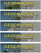 GEOGRAPHICA Continent Maps Volume 2 [BUNDLE]