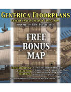 GENERICA Floorplans - FREE Bonus Map: Pirate Ship