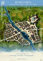 Dusktown -  Customizable Town Map