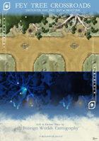 The Fey Tree Crossroads (Encounter Map)