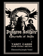 Dungeon Solitaire: Labyrinth of Souls - Tarot Deck