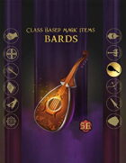 Class Based Magic Items: Bard
