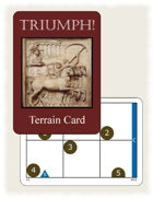 TRIUMPH! Terrain Card Deck