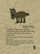 Forest Dragon Revised Dogs and Stuff Cards