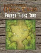 Jon Hodgson Map Tiles - Forest Tiles With Grid