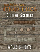 Jon Hodgson Maps - Walls and Posts