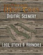 Jon Hodgson Maps - Logs, Sticks & Branches