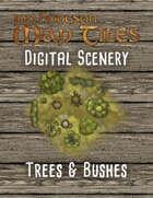 Jon Hodgson Maps - Trees & Bushes
