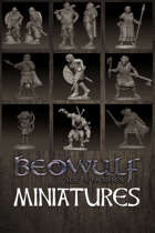 BEOWULF: Age of Heroes Digital Miniatures STL pack